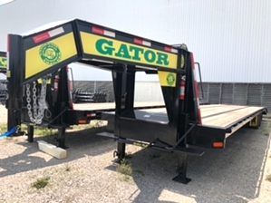 Air Ride Trailer  Air Ride Trailer. 35+5 24.9k Gooseneck Hotshot Trailer with 12k Disc Brake Axles