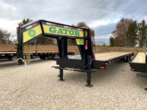 Air Ride Gooseneck Trailer 72in Spread Axle Air Ride Gooseneck Trailer 72in Spread Axle. Spread axles with toolbox storage and Gator tuff ramps