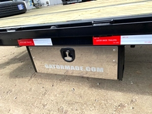 Air Ride Hotshot Trailer With Deck On Neck