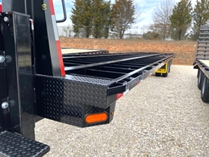 Air Ride Gooseneck Trailer With Ride Well Suspension