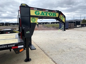 Air Ride Trailer with Hydraulic Jacks