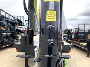 Air Ride Trailer with Hydraulic Jacks