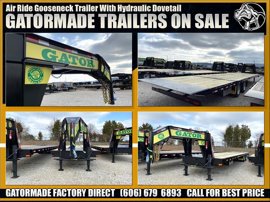 Image Air Ride Hydraulic Trailers