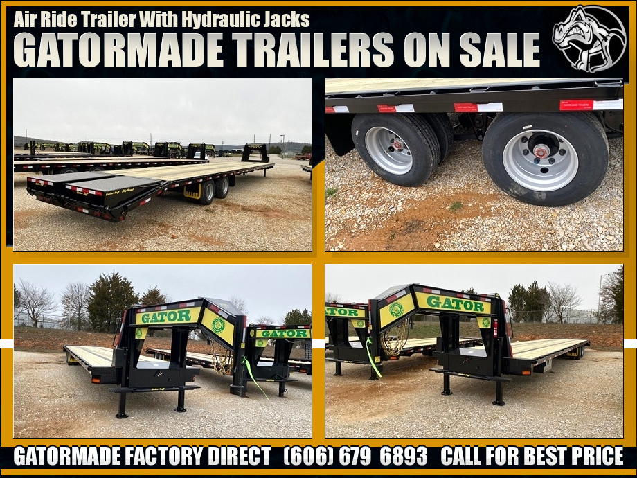 Image Air Ride Hydraulic Trailers