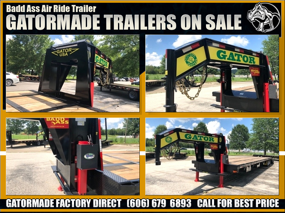 Bad Ass Air Ride Trailer