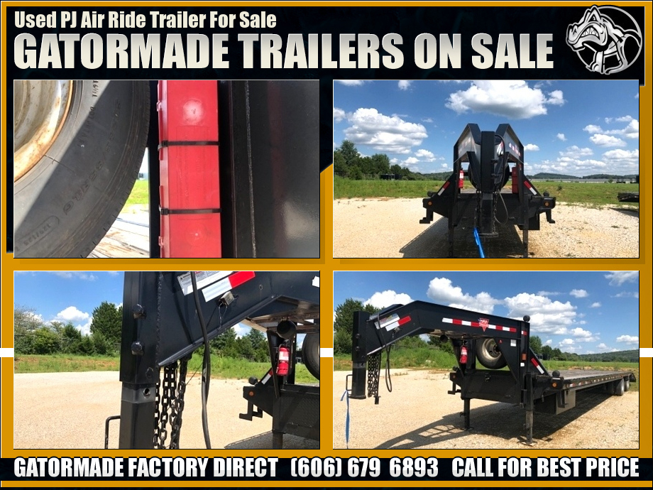 Image Used Air Ride Trailers